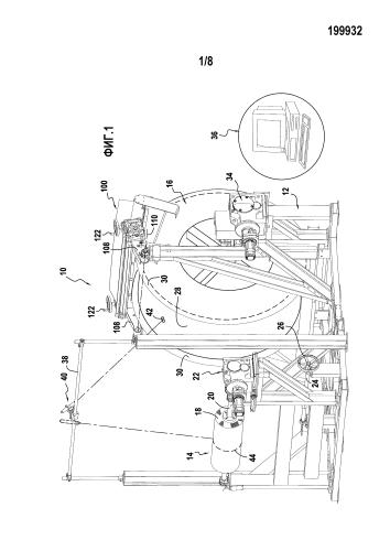Устройство уплотнения для машины для намотки волокнистой текстуры на оправку для пропитки