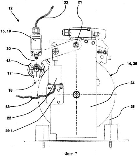 Контрольное устройство для обнаружения нежелательного выхода кабины лифта из неподвижного состояния