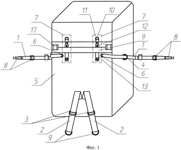Устройство для крепления грузового контейнера к подвесной системе парашюта
