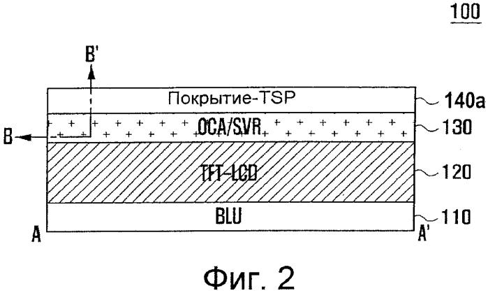 Панель ввода касанием тонкого типа и мобильный терминал, включающий в себя ее