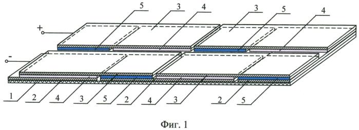 Тонкопленочное термоэлектрическое устройство со сбалансированными электрофизическими параметрами р- и n-полупроводниковых ветвей