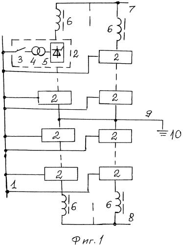 Подстанция биполярной m-ветвевой электропередачи постоянного тока
