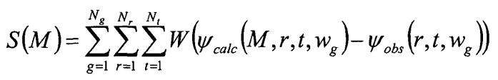 Инверсия одновременных источников для данных сейсмоприемной косы с взаимнокорреляционной целевой функцией
