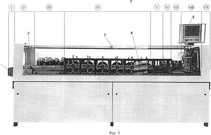 Роликогибочная линия для изготовления элементов с-образного профиля для сборной каркасной конструкции из рулонной стали