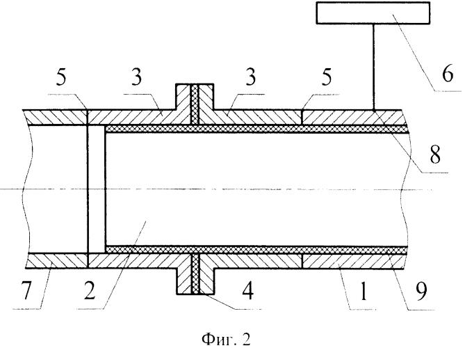 Способ защиты токоизолирующего соединения двух участков трубопровода от внутренней коррозии