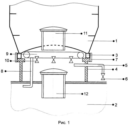 Устройство для разделения всплывающей камеры с подводным техническим средством