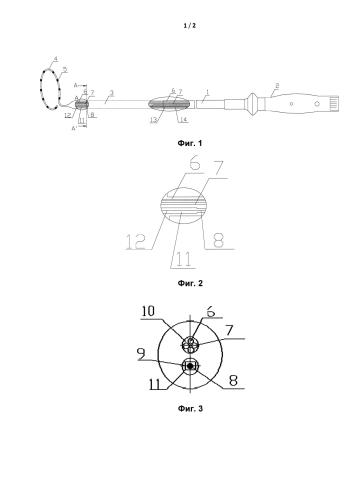 Многополюсный синхронный радиочастотный абляционный катетер для легочной артерии
