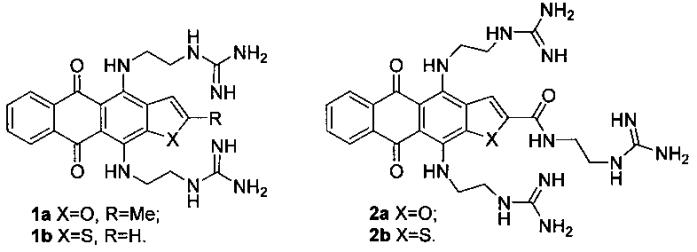 Селективные лиганды g-квадруплексных структур нуклеиновых кислот