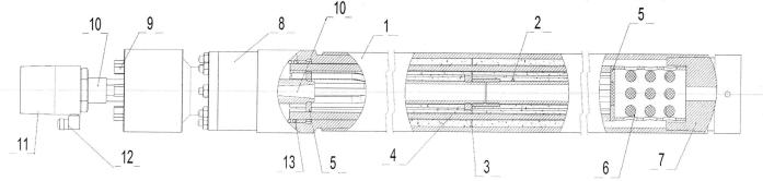 Устройство физико-химической обработки скважины