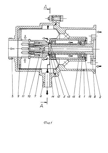 Приводной осевой центробежный суфлер