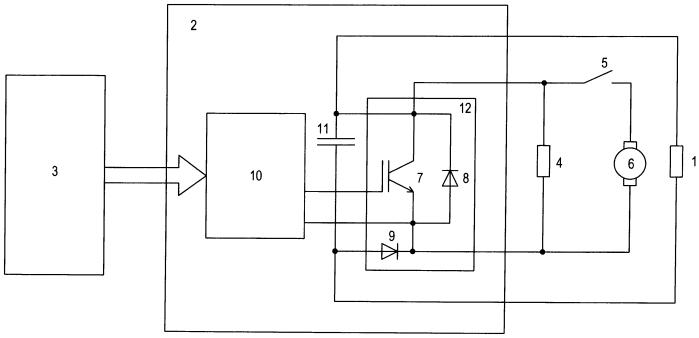 Регулятор электродинамического тормоза транспортного средства