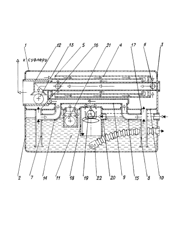 Маслобак авиационного двигателя