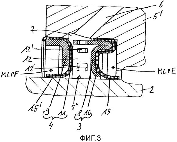 Двойное уплотнительное устройство для вращающегося вала и насос, содержащий такое устройство