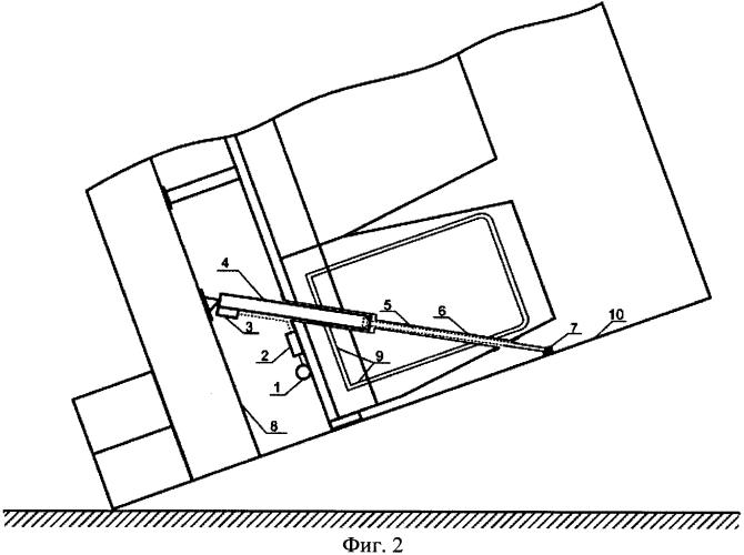 Пассажирское кресло с устройством для повышения прочности кузова транспортного средства при опрокидывании