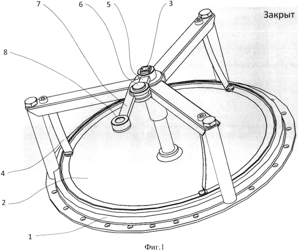 Устройство комбинированного газового клапана дирижабля