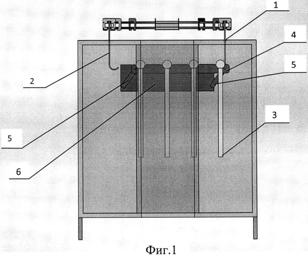 Устройство перемещения длинномерных изделий в печи полимеризации при порошковой окраске