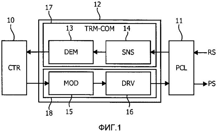 Передатчик энергии и приемник энергии для индуктивной системы передачи энергии