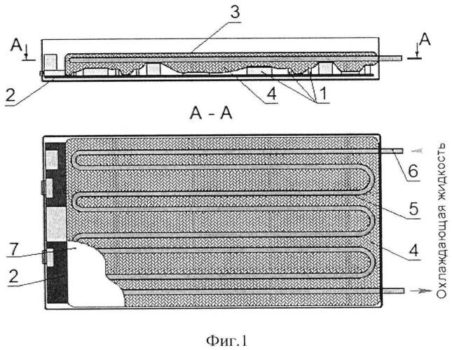 Способ охлаждения электронных компонент печатных плат
