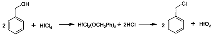 Способ получения сверхвысокомолекулярного полиэтилена, модифицированного наноразмерными частицами оксида гафния