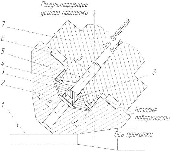 Грибовидный валок для стана поперечно-винтовой прокатки
