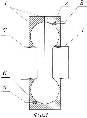 Реверсивная рабочая камера эжектора воронка