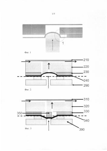 Микронасос или нормально закрытый микроклапан