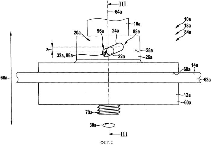 Предохранительное устройство для предотвращения самопроизвольного отделения зажимного элемента и/или рабочего инструмента