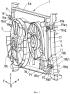 Способ и устройство соединения вентиляторного агрегата и радиатора для двигателя автотранспортного средства и полученный узел вентиляторного агрегата и радиатора