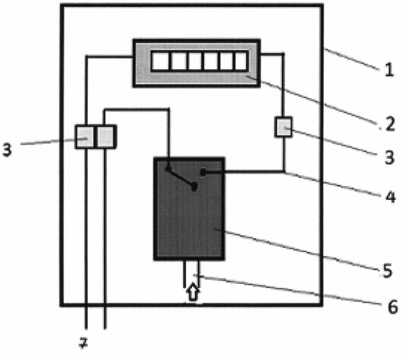 Счетчик циклов работы газопотребляющего оборудования