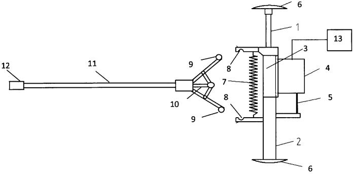 Устройство для измерения внутренних диаметров крупногабаритных изделий