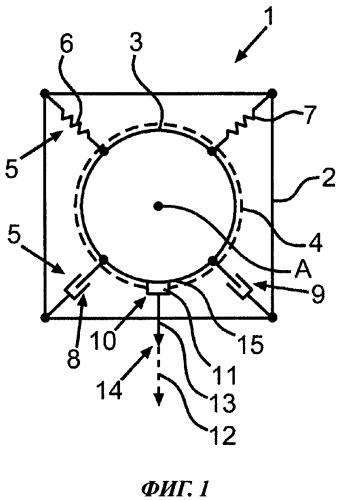 Бытовой прибор для обработки белья и способ определения аварийного состояния устройства упругой подвески в бытовом приборе