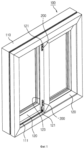 Сдвижное окно с улучшенной герметичностью