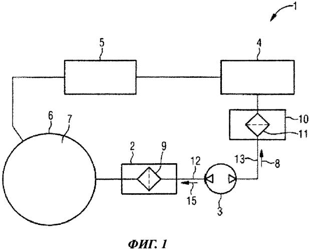 Бытовой прибор, содержащий генератор озона и фильтрующее устройство
