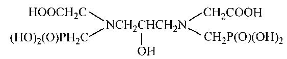 Способ получения 1, 3-диамино-2-гидроксипропан-n, n-диметилфосфоновой-n, n-диуксусной кислоты