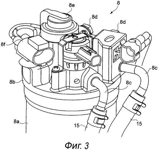 Кронштейн для топливного фильтра