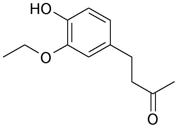 Косметическая композиция, включающая 4-(3-этокси-4-гидроксифенил)-2-бутанон и липофильный растворитель