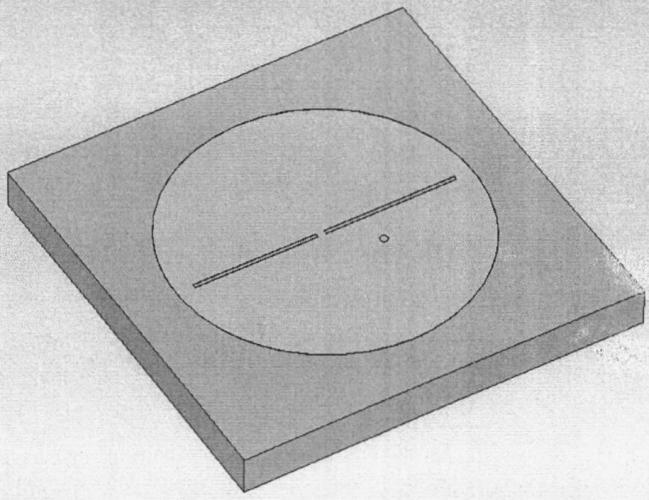 Микрополосковый излучатель