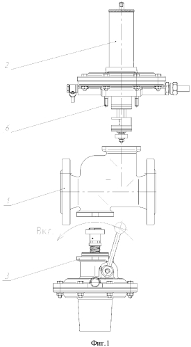 Регулятор давления газа комбинированный