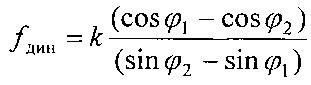 Способ определения динамического коэффициента внешнего трения
