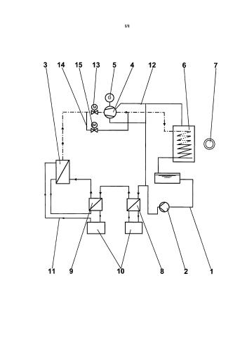 Способ работы рекуперационной установки