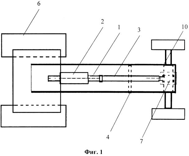 Регулятор осевой стабилизации колёсного трактора