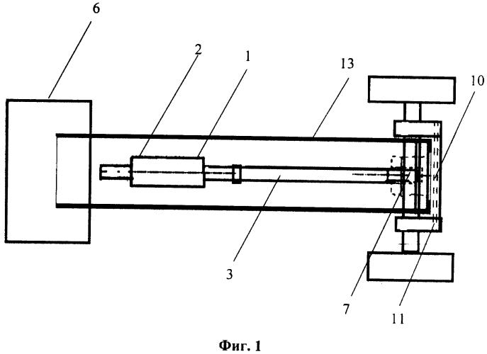 Стабилизатор нагрузки управляемого моста колёсного трактора