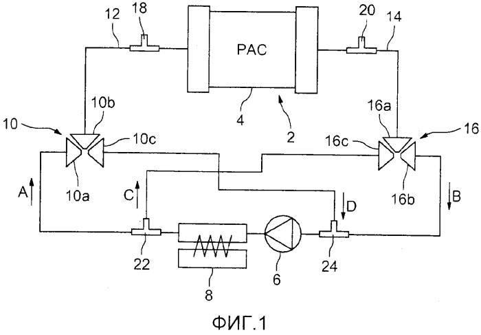 Система охлаждения для топливного элемента