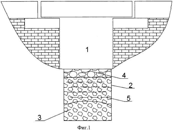 Способ безналедного пропуска воды в подмостовых руслах малых мостов
