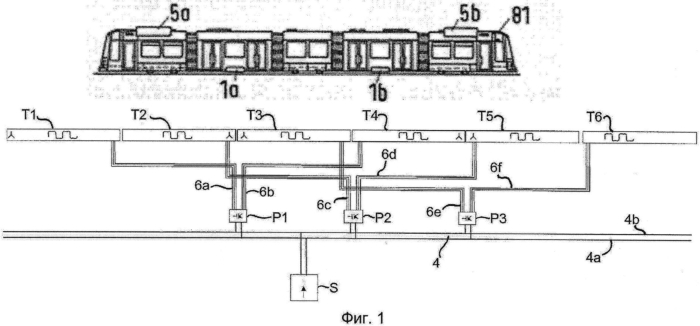 Система и способ передачи электрической энергии к транспортному средству с использованием сегментов проводниковой структуры, которые могут эксплуатироваться независимо друг от друга