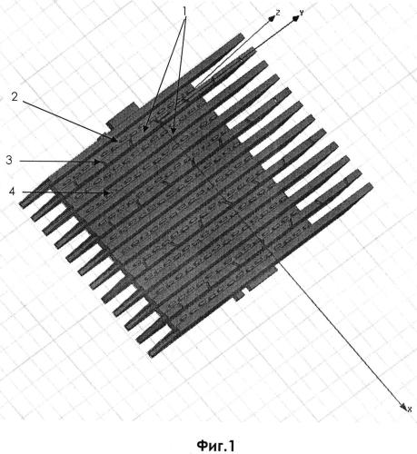 Двухдиапазонная волноводно-щелевая антенная решетка