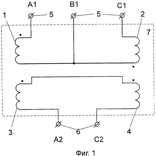 Устройство равномерного распределения однофазной нагрузки по фазам трёхфазной сети
