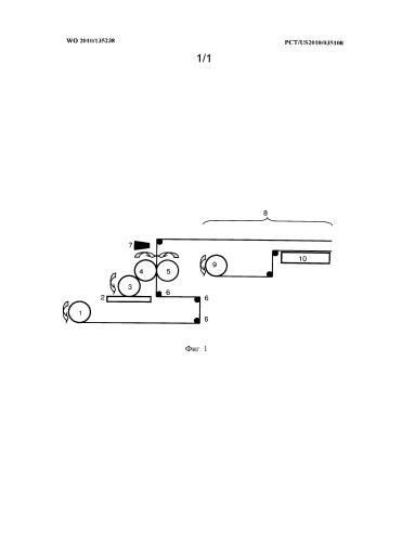 Способ печатания на водорастворимой пленке
