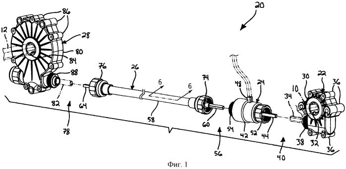 Система привода высеивающего аппарата