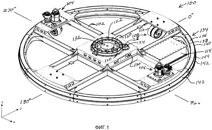 Безрельсовое транспортное средство аттракциона для катания dark ride, система и способ
